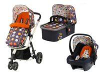 Cosatto giggle 2 travel system pram