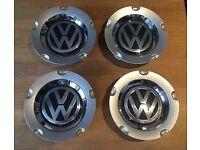 VW Alloy Wheel Centre Caps X4 New