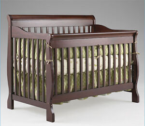 Used Convertible crib and dresser