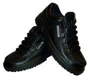 Leder Herren Schuhe Schwarz 42