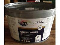 White Emulsion Paint - matt - trade Quality