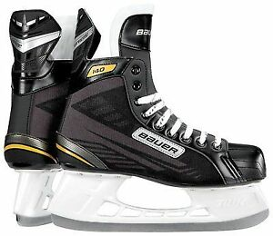 Bauer Senior Supreme 140 Skate, Black, R 10.0