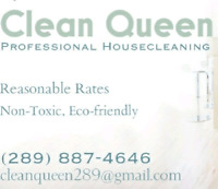 Housecleaning Services - Reasonable Rates, Non-toxic products