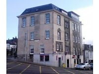 Two Flats & Retail Space To Let Dunfermline Central - No Rent Charged If You Do The Renovation Work