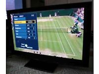 """50"""" PANASONIC TV FREEVIEW HDMI SCART ECT CAN DELIVER."""