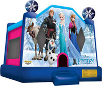 FROZEN Jumping bouncy Castle Rental Delivered -12 Kid Ride