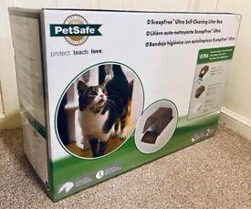 PetSafe ScoopFree Ultra Self-Cleaning Cat Litter Tray / Box / Pan
