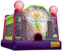 INFLATABLE TINKERBELL BOUNCY FOR RENT! (PARKER PARTIES)