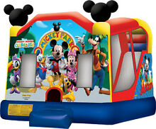 Mickey Mouse Jumping Castle Hire Melbourne from $160 ALL DAY Hire Melton West Melton Area Preview