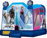 Disney FROZEN Birthday Party BOUNCY CASTLE Rental Elsa Anna Olaf