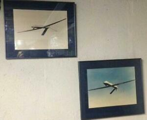 Framed Photos of Drones - Aircraft Aviation