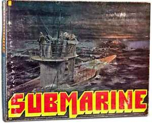 SUBMARINE BOARDGAME - COMPLETE & UNPUNCHED