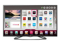 """LG 50"""" lcd led 3D tv 8 weeks old boxed"""