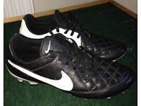 Nike Tiempo Boots UK 8