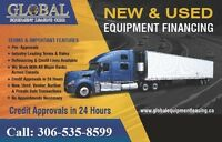 WE CAN FINANCE YOUR NEW OR USED EQUIPMENT EVEN WITH CREDIT ISSUE