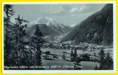 AK Österreich, Tirol: Mayrhofen mit Grünberg, 1931