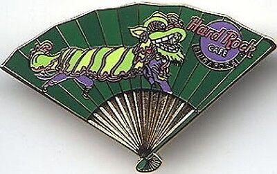Hard Rock Cafe Singapore 2001 Asiatische Fan Series Pin Chinesischer Drache