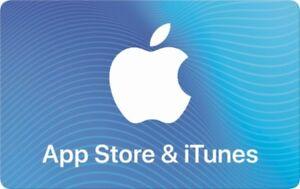 Carte cadeau Apple de 200$