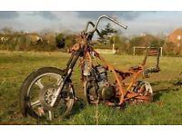 Motorcycle or Trike WANTED for project I collect Runner/Non runner Motorbike Motorcycles Salvage