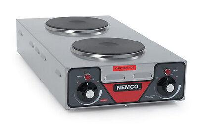 Nemco 6310-3-240 Countertop Electric Double Burner Hotplate - 240v