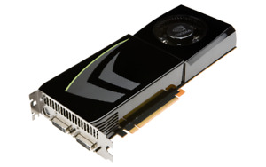 PC VIDEO CARD :  nvidia geforce 285 gtx
