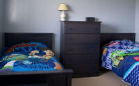 Solid wood Twin bed(s)