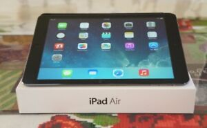 OPEN BOX IPAD AIR 16GB 9.7►BLACK ►Mint condition►in Box with