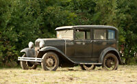 Looking to HIRE/RENT 1930-1931 4 Door Ford, Car & Driver