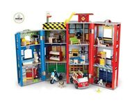 Boys playhouse - fire station and police station