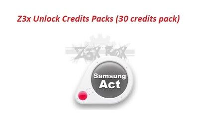 Z3X Server Credits pack (30 Credits) Fast Delivery INSTANT , REFILL, Best PRICE
