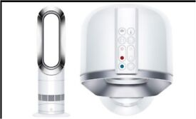 Dyson hot and cool bladeless heating fan