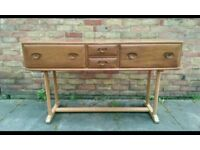 Stunning Ercol 1960s console table