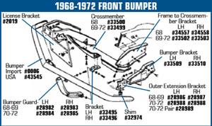 69 Corvette parts