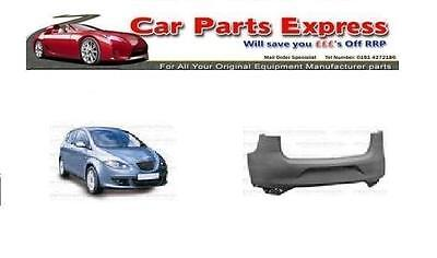 SEAT ALTEA 2004/2009 REAR BUMPER PAINTED ANY COLOUR