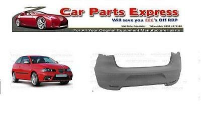 SEAT IBIZA 2006/2008 REAR BUMPER PAINTED ANY COLOUR