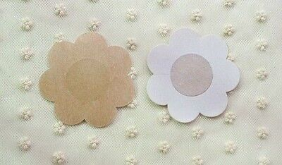 10 Pairs 20 Pcs Nude Breast Nipple Tape Conceal Petal Cover Up Disposable Flower