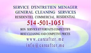 Cleaning and Maintenance Services west island