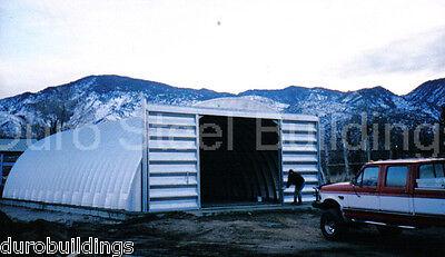 Durospan Steel 30x40x14 Metal Building Kit Farm Machine Workshop Factory Direct