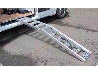 Motorcycle Loading Ramp & Ratchet Straps
