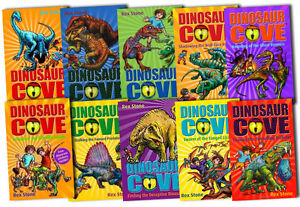 Dinosaur-Cove-Series-Collection-Rex-Stone-10-Books-Set-pack-NEW-11-to-20