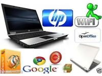 Fast HP Compaq 6930p Intel Core 2 Duo 4GB RAM 128SSD HDD Cheap Window 7 Laptop