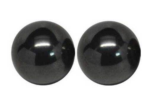 Set of 20 Magnetic Hematite Balls 20mm Diameter Singing Zinger Stress Meditation