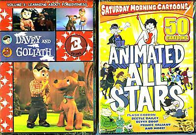 fc81e6b0 Davey and Goliath Vol. 3 & Animated All Stars, Vol. 1