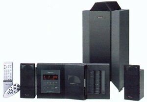 Nakamichi SoundSpace 8 Stereo Music System with 5-Disc CD