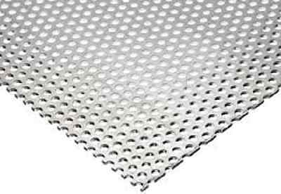 Perforated Aluminum Sheet .063 X 24 X 72 14 Holes 38 Staggers