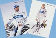 Autogrammkarten Motorsport
