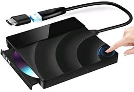 External CD Drive,USB 3.0 Touch Control CD/Dvd +/-Rw Drive,Dvd/CD Rom