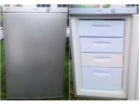 A Rated Energy Matsui Grey Silver Metallic 4 Drawer Under Counter freezer