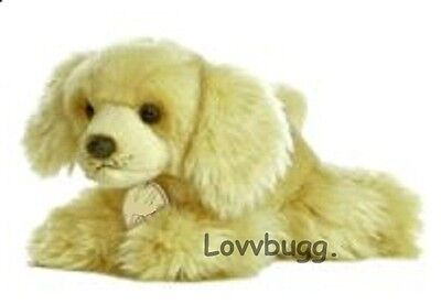 "Lovvbugg Dog Cocker Spaniel Perfect Pet for 18"" American Girl Doll Accessory"