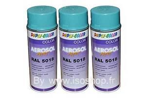 aerosol de peinture dupli color couleur bleu turquoise - Dupli Color Bombe Peinture